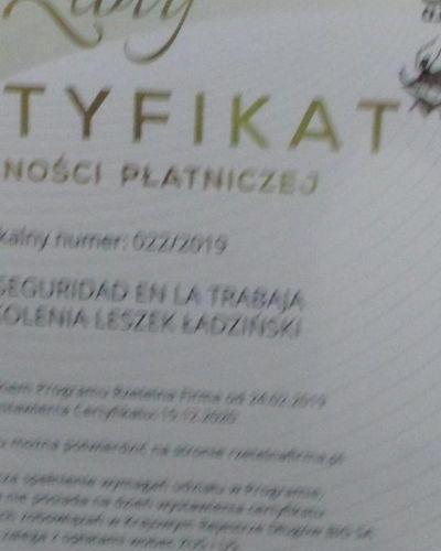 Certyfikaty 02